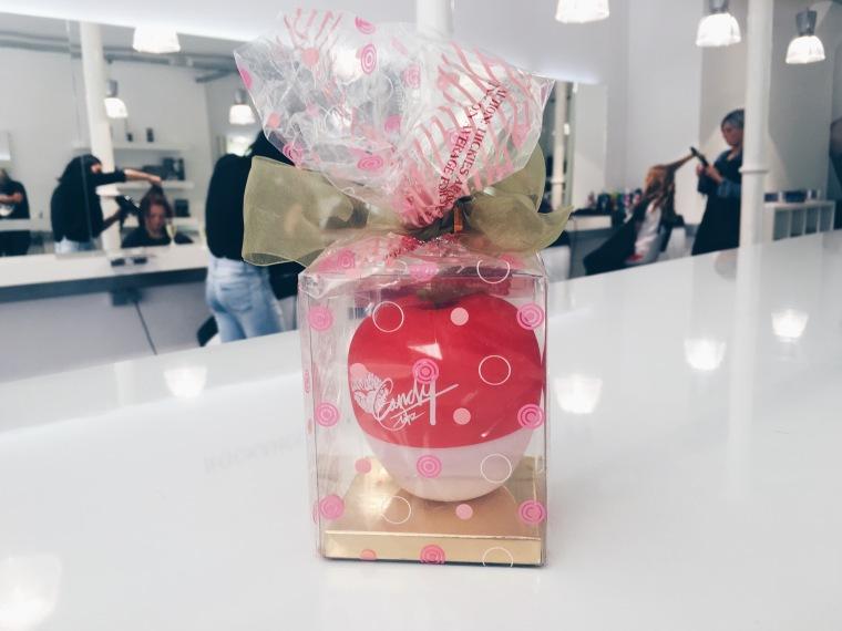 Het pakketje dat je krijgt voor slechts €20! Een appeltje en handleiding in een super mooie verpakking!